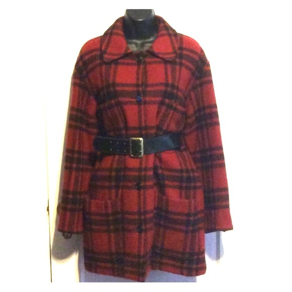 DKNY Jackets & Blazers - Vintage DKNY Wool Plaid Jacket